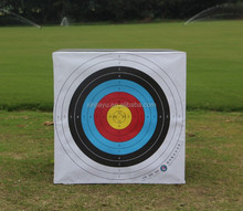 archery foam target/direct factory supplier durable cube archery target for shooting