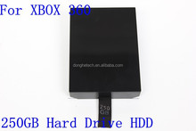 fat hard drive hdd 250gb for xbox 360 sale SATA 2.5'' hottest capacity