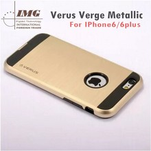 10 colors Dual layered mobile accessories for iphone 6 , for iphone 6 case with crystal box for package
