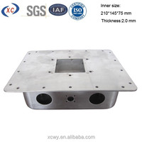 Custom aluminium enclosure box for electronic aluminium case