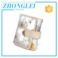 Low Cost Folding Natural Leather Wallet With Excellent Service