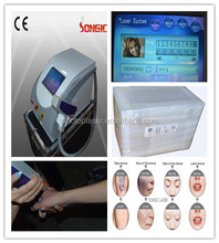 First class product in china Tattoo Removal machine Q Switch ND Yag Laser Tattoo Removal machine