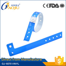 ISO CE FDA Certificate good design of promotional cheap pvc one time wristband for event