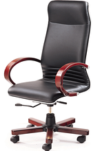 Modern office chair wood bases 035A