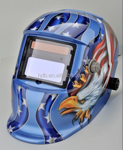 High quality Solar welding helmet(bule color )