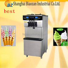 shanghai biaozan factory CE approved, single pan roll fried ice cream machine(ICM-400)