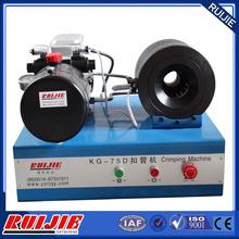 KG-75D brake hose crimping machine, hydraulic hose crimping machine price