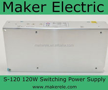 CE approved aluminum anodizing power supply S-120-5 24A