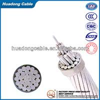0.6/1kV acsr bare conductor/bare AAC cable/aluminum conductor/acsr