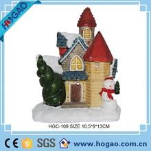 Delicate Christmas Decor OEM Dollhouse Resin items
