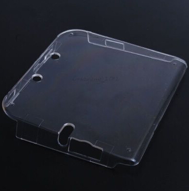 Прозрачный кристалл кожи случае защитной бухты для nintendo 2ds