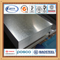 Z40-Z280 galvanized steel sheet metal price low