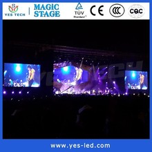 Justin Timberlake Concert china suppliers 6mm smd led outdoor screen square meter