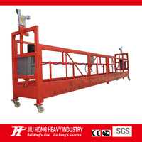 suspended platform zlp630/800/1000 advance glass cleaning lifting platform