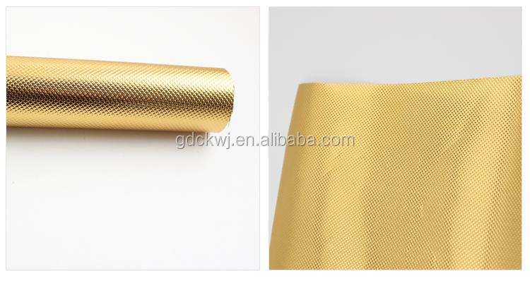 pvc cabinet furniture paper self adhesive aluminum foil paper aluminum foil wrapping paper