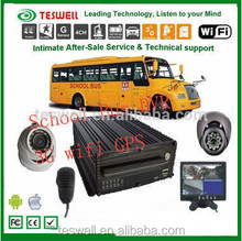 auto parking 4ch 720p mobile dvr high definition digital video recorder hd mdvr car vehile
