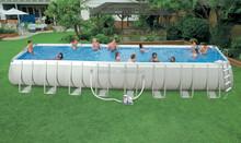 china supply used fiberglass pools, hot pool filter , intex ultra frame pool