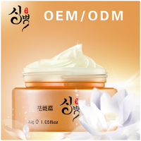 OEM/ODM best private label face and skin whitening cream