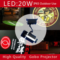 Outdoor Image Rotating 20W LED Custom Gobo Image Projector