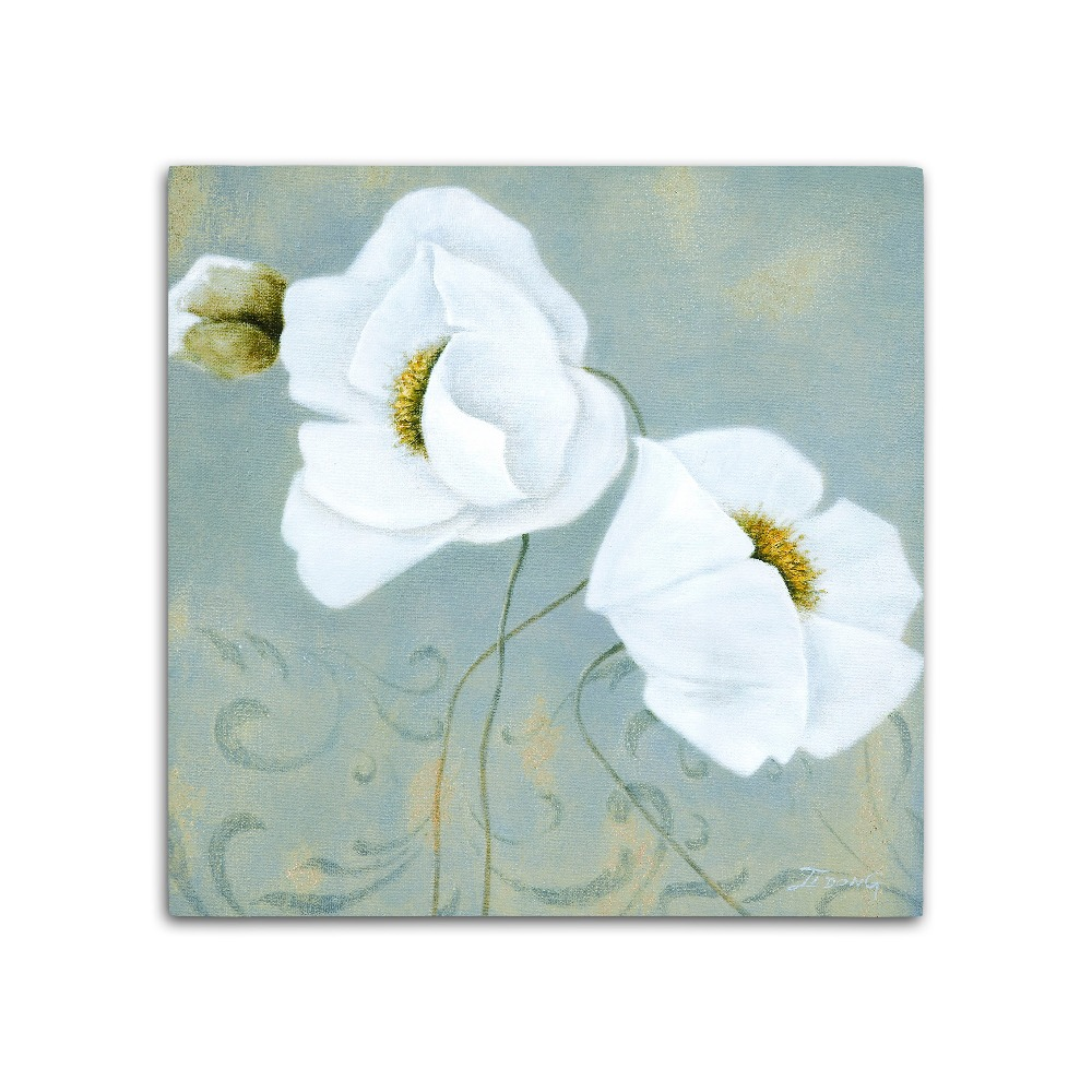 Wood Wall Hanging Crafts Beautiful Flower Paintings Buy Wall
