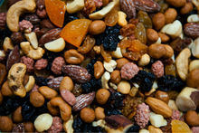Mix dried fruits and nuts