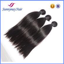 Wholesale Human Hair Bundle, 6A Grade 100% Unprocessed Virgin Malaysian Straight hair