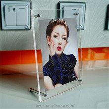 Hot girl 2015 new products clear acrylic photo frame