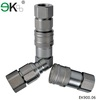 Iso16028 stainless steel bsp hydraulic quick coupling