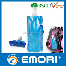 Personalized portable and customized PE disposable water bottle drinking bottle travelling bottle