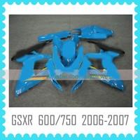 Aftermarket ABS Custom Fairing Body Kit for SUZUKI K6 GSXR600 750 2006 2007