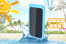 Solar Power Bank Charger Customized 5000mah Solar Mobile Charger Usb Portable Power Bank