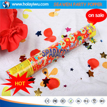 wholesale crepe paper streamer gold paper wedding confetti metal christmas letters decoration