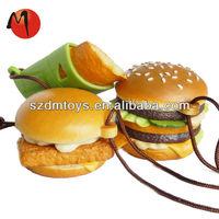 plastic fast food toy food set