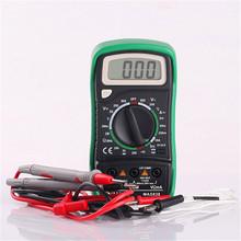 Professional Analyst MASTECH MAS838 Mini Digital Multimeter for Temperature Voltage Current Resistance Diodes Circuit Continuity