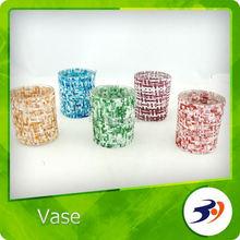 Wholesale Glass Vase Hand Cut Lead Crystal Vase