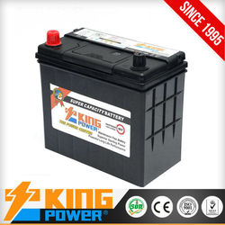 types of automotive battery NS60MF King Power (Tyre and battery)