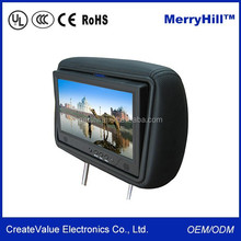 Advertising Screen 7 Inch 8 Inch 10 Inch Android Car Headrest Monitor With RCA VGA