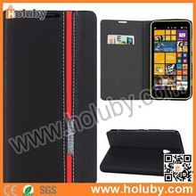 For Nokia Lumia 1320 Leather Case, Multi Color Style Side Flip Stand PU Leather Case for Nokia Lumia 1320 with Card Slot Cover