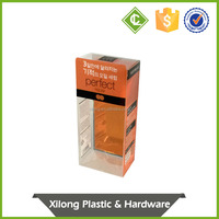export quality special custom logo small clear plastic packaging boxes
