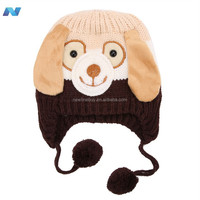 Cute Animal Shaped Knitted Baby Hat Boy Girl Winter Cap