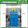 residuos hidráulico caja de cartón de prensa máquina de empacadora