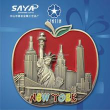 one and only new york souvenir fridge magnet