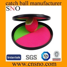 Velcro Catch 18.5cm cm Catch Ball with larger printing size