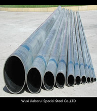 China supplier Q345 carbon mild steel sheet tube