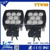 Y&T 80W Super bright 10w hid ballast led working lights for car trailers industrial truck YTW80