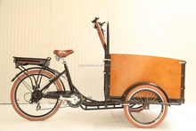 2015 CE Danish bakfiets family electric 3 wheel 36V lithium battery cargo bike price