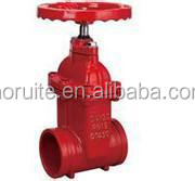 Z85X Non-rising Stem Soft sealing Groove Gate Valve