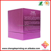 high-end cardboard candle box packaging