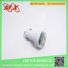 5V 2.1A Nipple Universal 2 Port dual USB car charger adapter For Cell Phones / Tablet