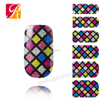 Eco-freindly Beauty Office Crystal Packaging For Nail Art Stickers GDI-010